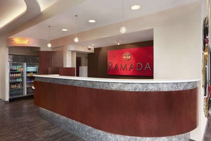 Lobby | Ramada by Wyndham Rockville Centre