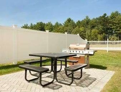 Patio | Microtel Inn & Suites by Wyndham Dover
