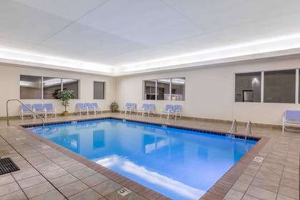 Pool | Days Inn by Wyndham Hotel Spencer IA