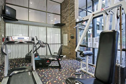 Fitness Center   Ramada Hotel & Conference Center by Wyndham Lansing