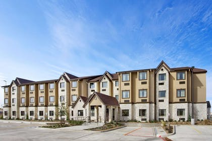 Welcome to the Mircotel Inn And Suites by Wyndham Buda at Cabelas.   Microtel Inn & Suites by Wyndham Buda Austin South