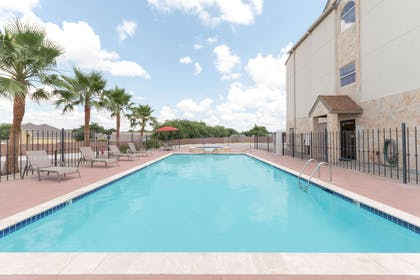 Pool | Microtel Inn and Suites Eagle Pass