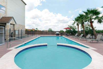 Pool   Microtel Inn and Suites Eagle Pass