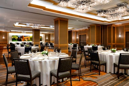 Promenade Room set in Rounds | The Westin Chicago River North