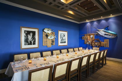 Latitudes Private Dining Room | Sunset Key Cottages
