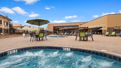 Outdoor Pool and Hot Tub   Best Western Premier Grand Canyon Squire Inn