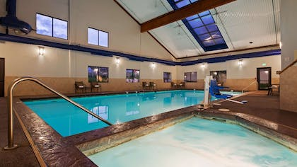 Indoor Pool and Hot Tub | Best Western Plus Eagle Lodge & Suites