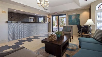 We believe that first impressions are key and trust you will feel at home in our welcoming lobby through the duration of your stay. | Best Western St. Augustine Beach Inn
