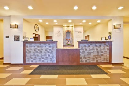 Reception Desk | Best Western Plus Green Mill Village Hotel & Suites
