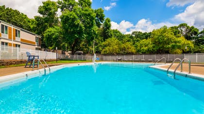 Outdoor Pool | Best Western Plus Chelmsford Inn
