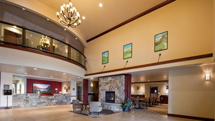 Lobby | Best Western Shelby Inn & Suites