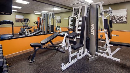 Fitness Center | Best Western Plus Suites-Greenville