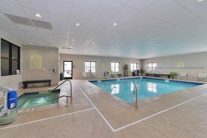 Indoor Pool | Best Western Plus Williston Hotel & Suites