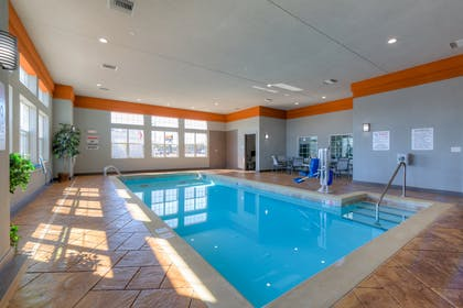 Indoor Heated Pool | Best Western Plus Coweta's 1st Hotel
