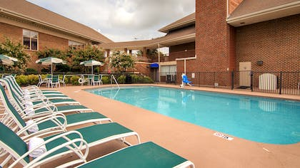 Seasonal Outdoor Pool | Best Western Plus Morristown Conference Center Hotel