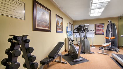 Fitness Center | Best Western Plus Morristown Conference Center Hotel