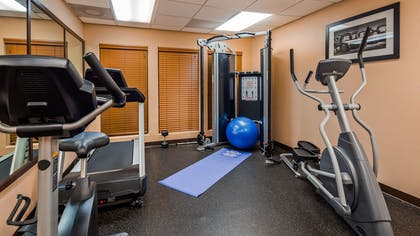 Fitness Center   Best Western Plus The Woodlands