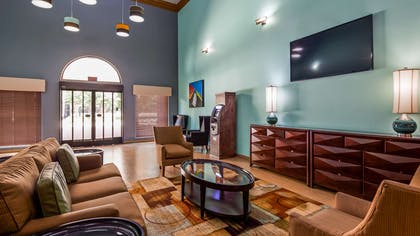 Spacious Lobby area to unwind   Best Western Plus The Woodlands