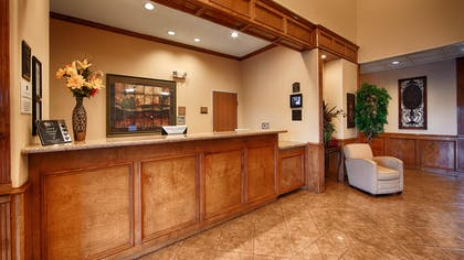 Reception Desk | Best Western Plus Schulenburg Inn & Suites