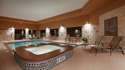 Indoor Swimming Pool and Hot Tub | Best Western Plus Lytle Inn & Suites