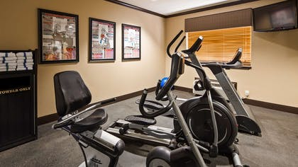 Fitness Center | Best Western Plus Classic Inn & Suites