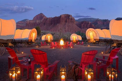 Covered Wagons | Capitol Reef Resort