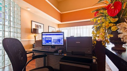 business center | Best Western East Towne Suites