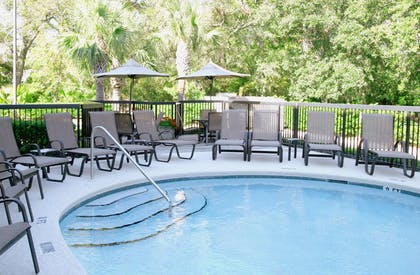 Pool | Hampton Inn Amelia Island at Fernandina Beach