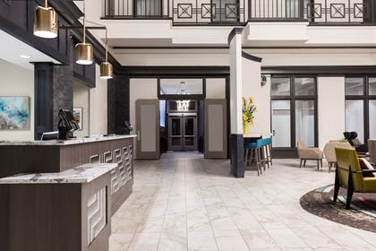 Lobby | Homewood Suites by Hilton Nashville-Downtown