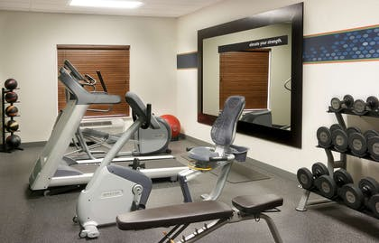Health club fitness center gym | Hampton Inn and Suites Brownsville