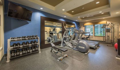 Health club | Hampton Inn and Suites Jekyll Island