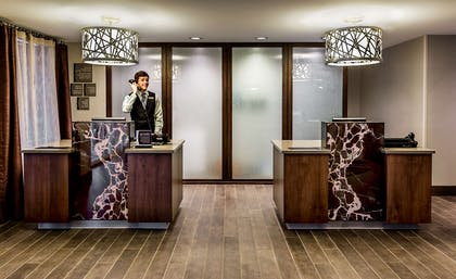 Reception   Homewood Suites by Hilton Buffalo-Airport