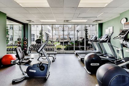 Health club fitness center gym   Homewood Suites by Hilton Buffalo-Airport