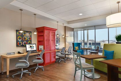 Business Center | Home2 Suites by Hilton Baltimore / Aberdeen, MD