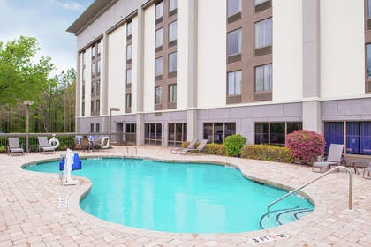 Pool | Hampton Inn Columbia Northeast - Fort Jackson Area
