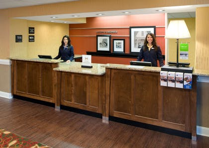 Reception | Hampton Inn Columbia Northeast - Fort Jackson Area