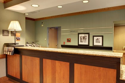 Reception | Hampton Inn & Suites Chicago/Aurora