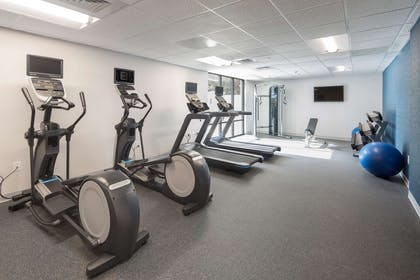 Health club fitness center gym | Hampton Inn & Suites Charlotte/South Park at Phillips Place