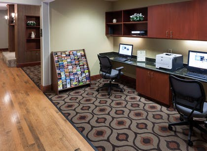 Business Center | Homewood Suites by Hilton Irving/DFW Airport, TX