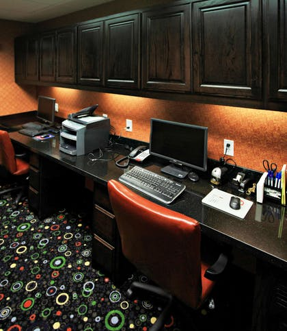 Business Center | Hampton Inn & Suites Dallas/Lewisville-Vista Ridge Mall, TX
