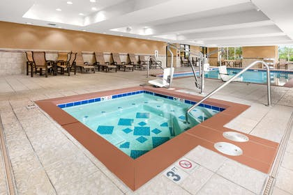 Pool | Hampton Inn & Suites Fairbanks