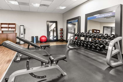 Health club | Hampton Inn & Suites Fairbanks