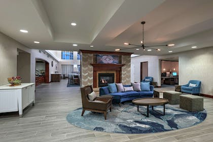 Breakfast Area | Homewood Suites by Hilton Fort Collins