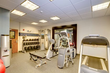 Health club fitness center gym | Hampton Inn & Suites - Cape Coral/Fort Myers Area, FL