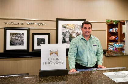 Reception | Hampton Inn & Suites Fort Myers-Colonial Blvd.
