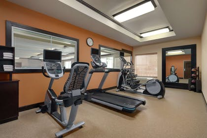 Health club fitness center gym | Homewood Suites by Hilton Fort Smith
