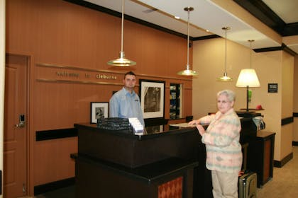 Reception | Hampton Inn and Suites Cleburne