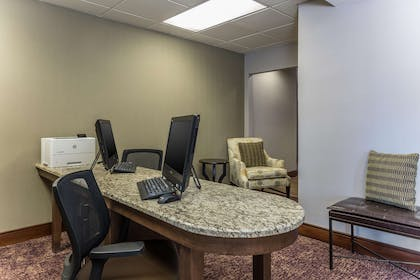Business Center | Homewood Suites by Hilton Ft. Worth-North at Fossil Creek