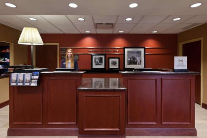 Reception | Hampton Inn & Suites Grove City