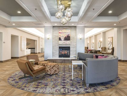 Lobby | Homewood Suites by Hilton Greenville